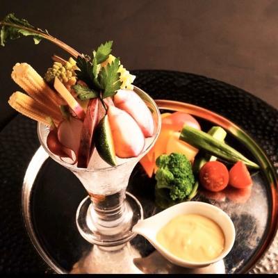 お野菜いろいろバーニャカウダ